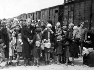 Auschwitz arrival