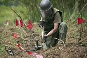 Landmine-Clearance