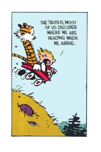 Calvin and Hobbes adventure