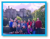 Lismore Castle, Waterford, Ireland, mindfulness, time out, escape, river, tour, weekend, walking, guide